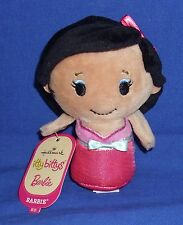 Retired Hallmark Itty Bittys Asian Barbie 2016 Bean Bag Plush NWT