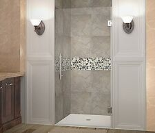 "ASTON GLOBAL Aston Cascadia 34"" x 72"" Completely Frameless Hinged Shower Door"