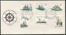 AAT - 1981 'SHIPS OF THE ANTARCTIC' Series III First Day Cover [C3203]