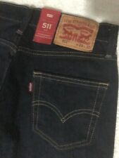 Levi's men jeans 511 slim fit, dark blue, 29x30