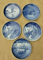 1960s Royal Copenhagen, Bing & Grondahl Christmas Collector Plates