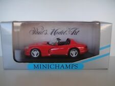 1/43 MINICHAMPS. DODGE VIPER CABRIOLET. RED 1993