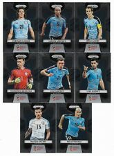 2018 Panini Prizm FIFA World Cup Base Team Set URUGUAY (8 Cards)