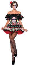 Day Of The Dead Doll Adult Women's Costume Sexy Fancy Dress Leg Avenue M/L *