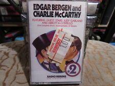 Edgar Bergen & Charlie Mccarthy Radio Reruns (Cassette) Neuf