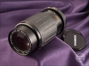 Pentax K Mount Cosina MC Macro 70-210mm Constant f4.5 Mid to Long Zoom - 930