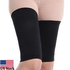 Women Slimming Thighs Shaper Elastic Stretch Plastic Leg Socks Set  For Leg US