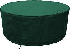 Housse pour table de jardin ronde confort 102cm vert