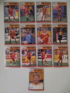 1989-90 Pacific MISL Soccer: Baltimore Blast TEAM SET (#29-41)