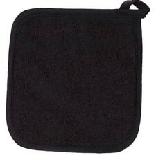 Ritz Terry Cloth Pot Holder Black