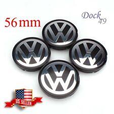 4 NEW VW VOLKSWAGEN WHEEL RIM CENTER HUB CAPS FOR BEETLE JETTA CABRIO GOLF 56MM