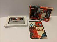 Weaponlord Super Nintendo SNES Boxed Complete UK PAL VGC FAST DISPATCH FREE P&P