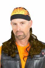 Abominable Mulletman Mullet Wig Headband Fancy Dress Halloween Costume Accessory