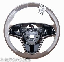23200925 Cadillac ELR 2014  LEATHER STEERING WHEEL  Cashmere