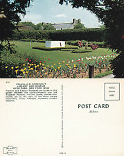 1960's ROOSEVELT MEMORIAL HYDE PARK NEW YORK UNITED STATES COLOUR POSTCARD
