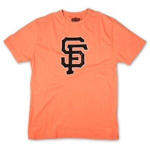 "San Francisco Giants ""SF"" Retro Logo T-Shirt By Red Jacket"