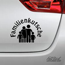 Auto Aufkleber Familienkutsche kult fun sticker
