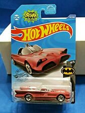Hot Wheels 2020 Kroger Exclusive Maroon TV Series Batmobile Die-Cast 1:64 Scale