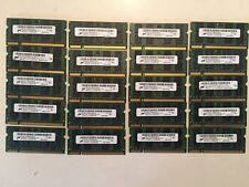 Lot of 100 Micron DDR2 2GB 2Rx8 PC2-5300S Laptop Memory All tested