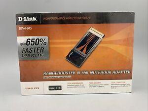 DWA-645 D-Link RangeBooster N 650 Notebook Adapter CardBus 300Mbps