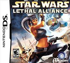 Star Wars Lethal Alliance game in original case great shape Nintendo DS