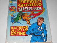 FANTASTICI QUATTRO GIGANTE Corno numero 5 originale !!!