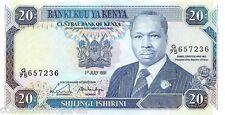 Kenya 20 Shilingi 1991 Unc pn 25d