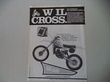 advertising Pubblicità 1980 MOTO TGM 125 C80 C CROSS