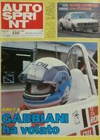 AUTOSPRINT N.12 1983