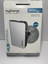 myCharge Portable Charger HUB 4-IN-1 UNIVERSAL Built In Lightning, USB-C & A