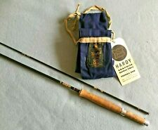 "A HARDY 8 1/2"" GRAPHITE FLY ROD , LINE RATE 6/7# , 2 PIECE"