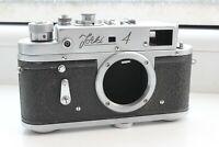 ZORKI 4 m39 USSR rangefinder film camera EXPORT VERSION BODY