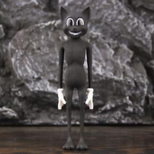 "Horror Black Cartoon Cat 6"" Action Figure 1923 SCP Figurine Kids Anime Toys"