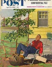 The Saturday Evening Post April 12 1958 Dick Sargent Vintage Americana Forester