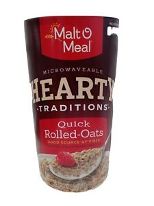 Malt-O-Meal Tradition Hearty. Quick Rolled-Oats 42oz .New