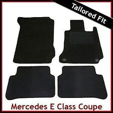 Tailored Carpet Floor Mats for MERCEDES E-Class Coupe C207 2009 onwards BLACK