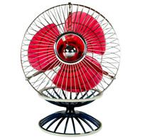 Tisch Ventilator Hitachi B-445 Kugel Design Vintage Desk Fan 60er 70er Japan