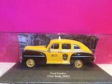 SUPERBE TAXI FORD FORDOR NEW YORK 1947 ech 1/43 NEUF EN BOITE N4