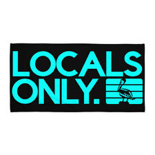 Locals Only Towel - Black