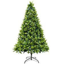ALEKO PE and PVC Traditional Artificial Indoor Christmas Holiday Green Tree 9 ft