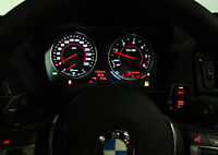 M2 OPTIK TACHO UMBAU WEISS FÜR BMW 1er F20 F21 2er F22 F23