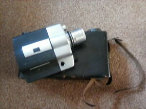 Vintage Argus Model 814 Super eight Cine camera with case