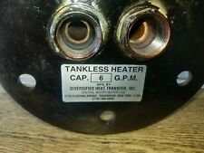 Tankless Water Heater Coil 6 G.P.M.605-6 SW-78 Diversified heat transfer, Inc.