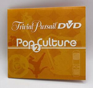 Original DVD Replacement Part for 2005 Trivial Pursuit DVD Pop Culture 2 Game