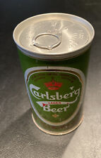 Carlsberg Lager Beer Can 12 oz Bottom Opened Carling O'keefe Limited, Toronto
