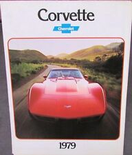 Original 1979 Chevrolet Corvette Dealer Sales Brochure Poster L82