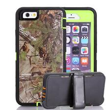 TPU Pink Tree Grass Shockproof Camo Hybrid Case Cover For iPhone 5C 6 6S 6SPlus