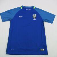 Brazilian Football Confederation Soccer Shirt Short Sleeve Nike XL Dri-Fit