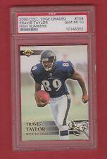 2000 Collector's Edge Travis Taylor RC #154- PSA 10