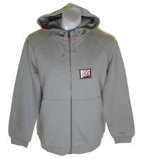 Nuevo con etiquetas para hombres Auténticos Reebok hoodie sweatshirt nuevos grandes Gris Cremallera Completa